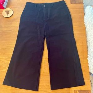 Old Navy cropped pants women's